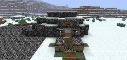 The temple of the diamond door Minecraft Project