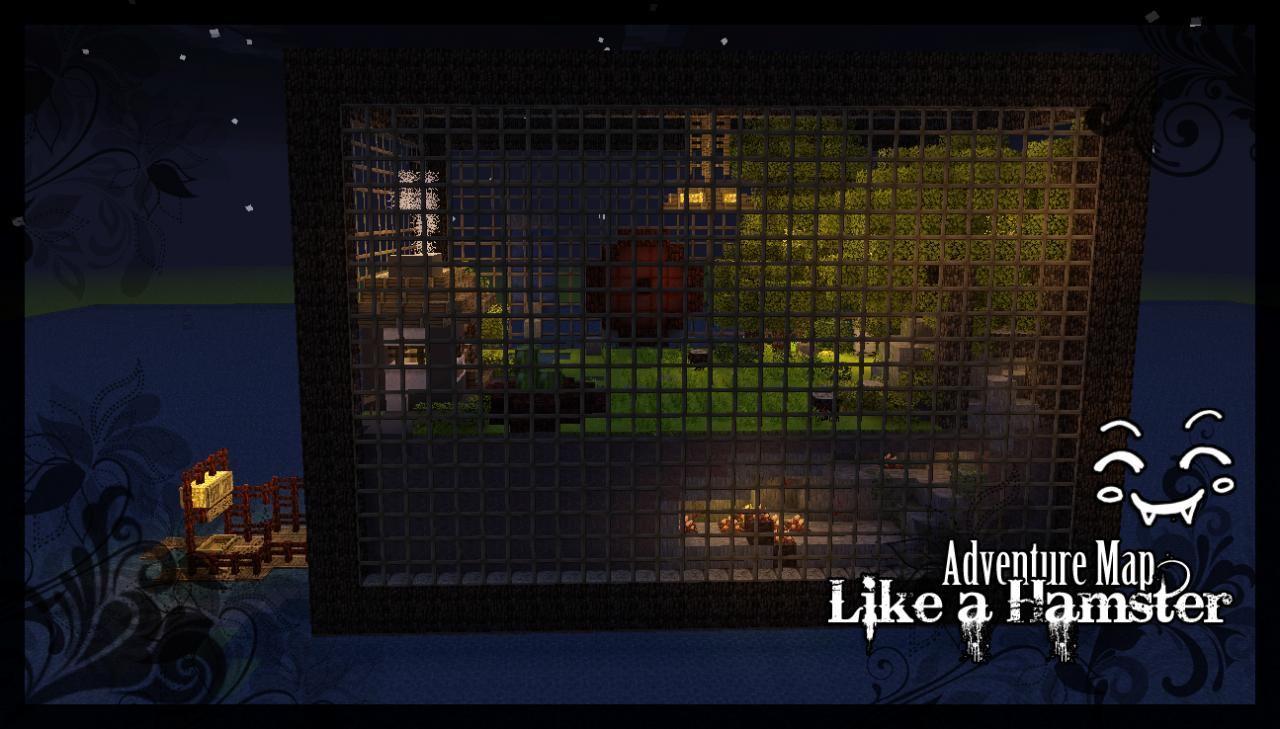 lives like a hamster adventure map minecraft project