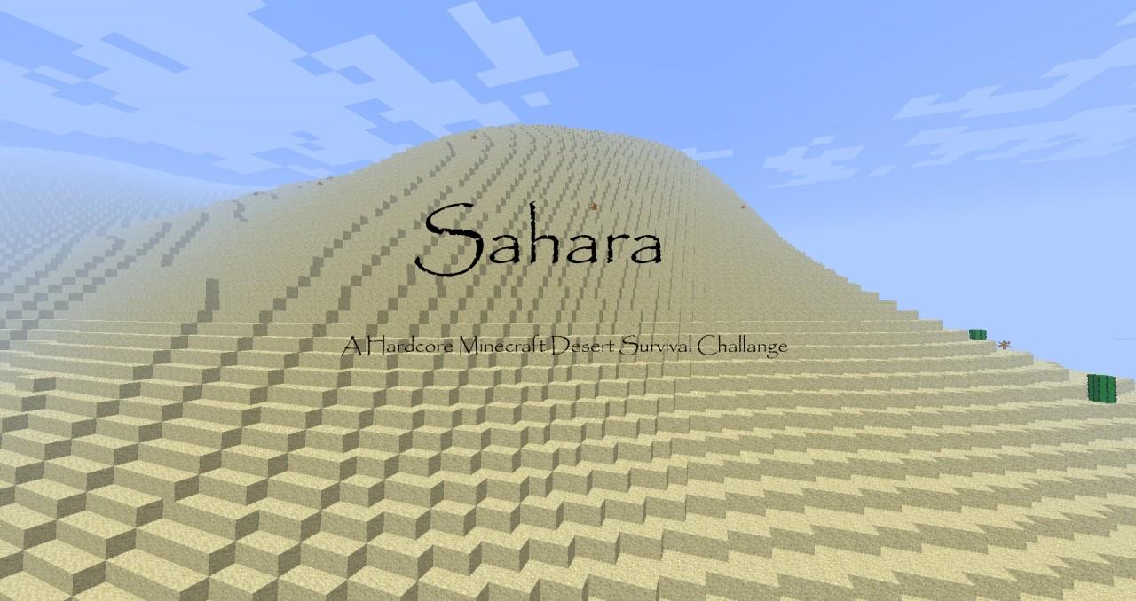Sahara: Minecraft Desert Survival Minecraft Project