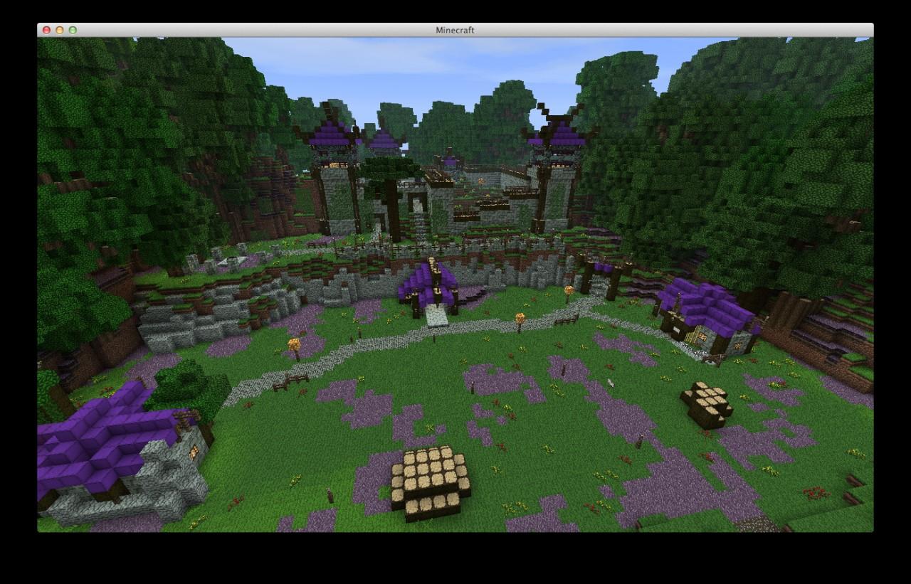 World of Minecraft - huge RPG server Minecraft Server