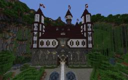 Castle Verilian of Aeritus, 100% complete, Updated World Save Minecraft Map & Project