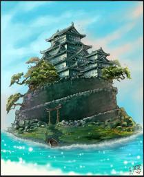 Ocean Castle Minecraft Map & Project