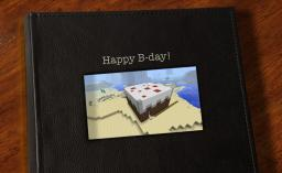 Today is my B-day! Minecraft Map & Project
