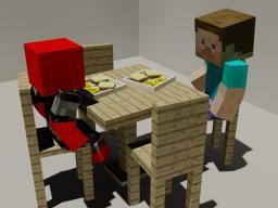 Dinner time! (3d art) Minecraft Blog