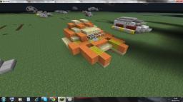 Star Trek Ferengi Shuttle craft (Zeppelin mod compatible) Minecraft Map & Project