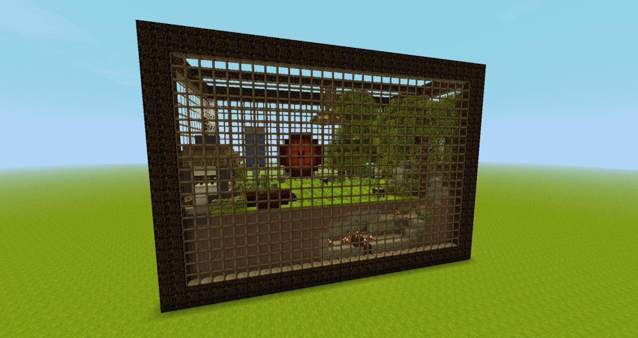 Image gallery minecraft hamster for How to build a hamster cage