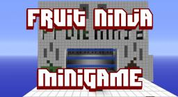 Fruit Ninja - Minigame Minecraft Project