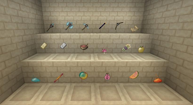 A few items