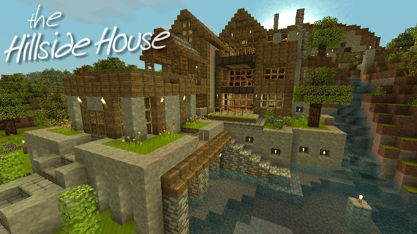 Hillside House Minecraft Project