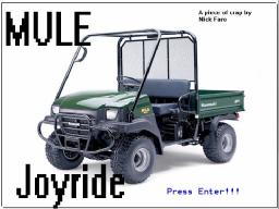 [GAME] MULE Joyride Minecraft Blog