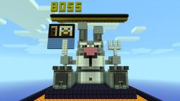 Evil Bunny Boss Fight Minecraft Project