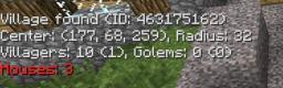 Village Info Minecraft Mod