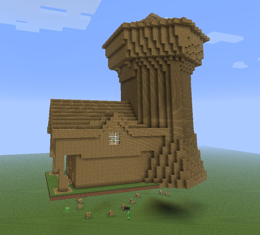 how to build wizard tower minecraft
