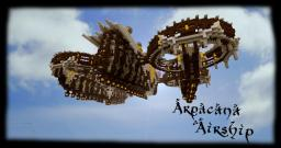 Arpacana Airship (Timelapse Included) Minecraft Map & Project