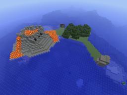 Lava Island Minecraft Map & Project
