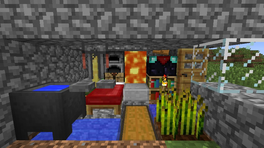 oh yeah - Smallest House In The World Minecraft