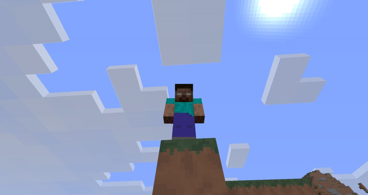 Remember, Herobrine is watching your every move...