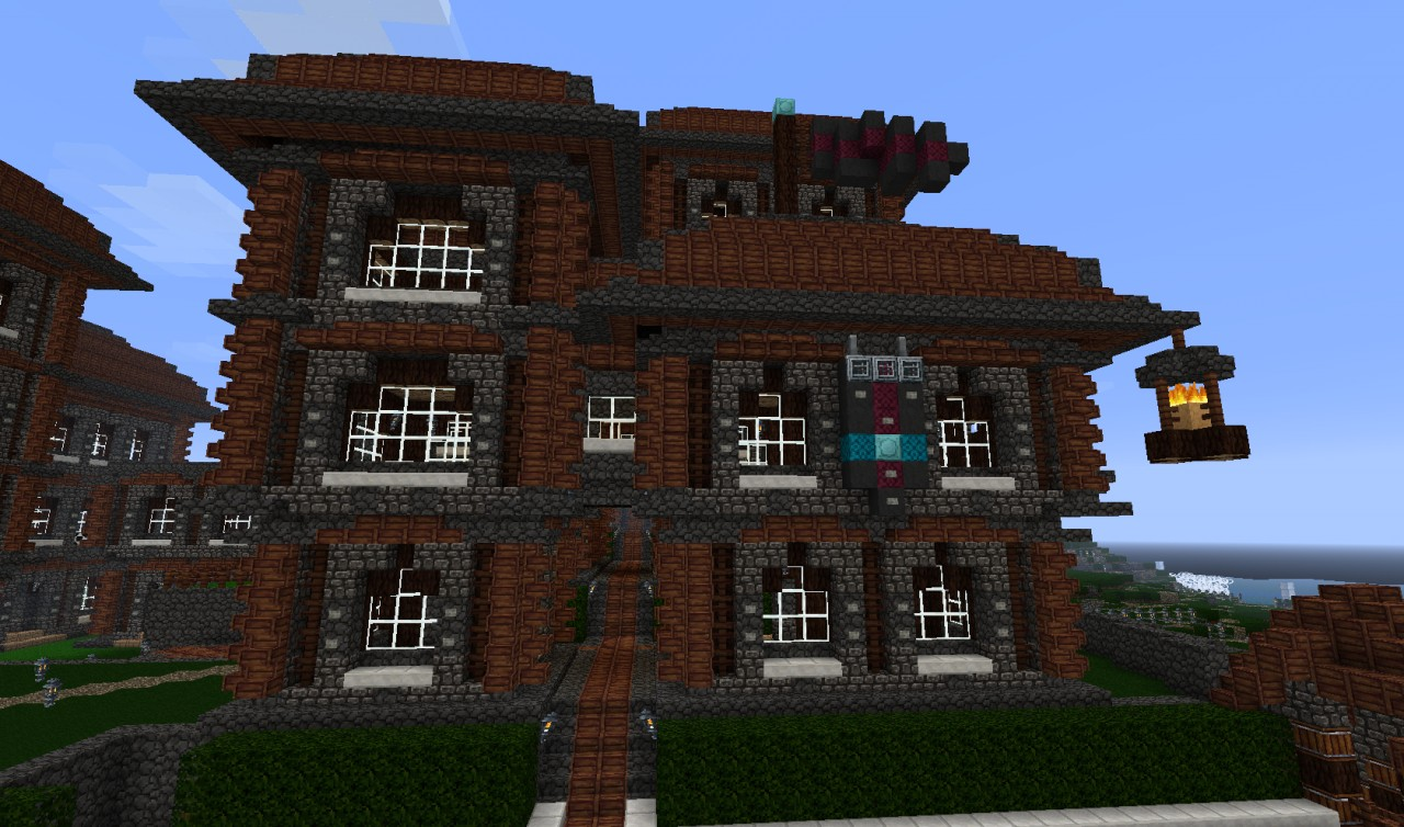 Quot Sterk Island Quot Appartment Complex Minecraft Project