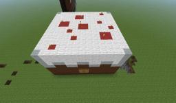 3D Birthday Cake Minecraft Map & Project