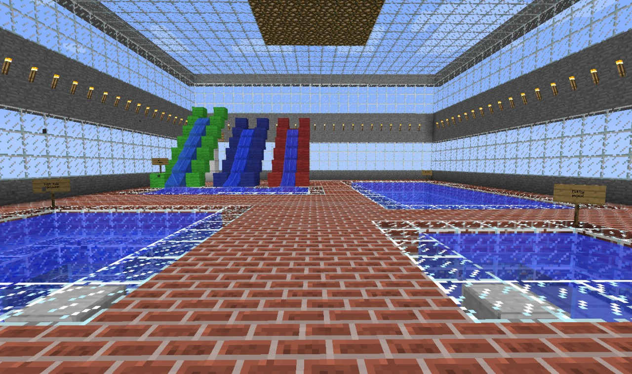 swimming pool minecraft project