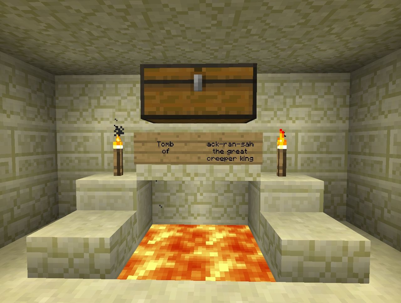 Crafter4ever's Egypt tomb Minecraft Project