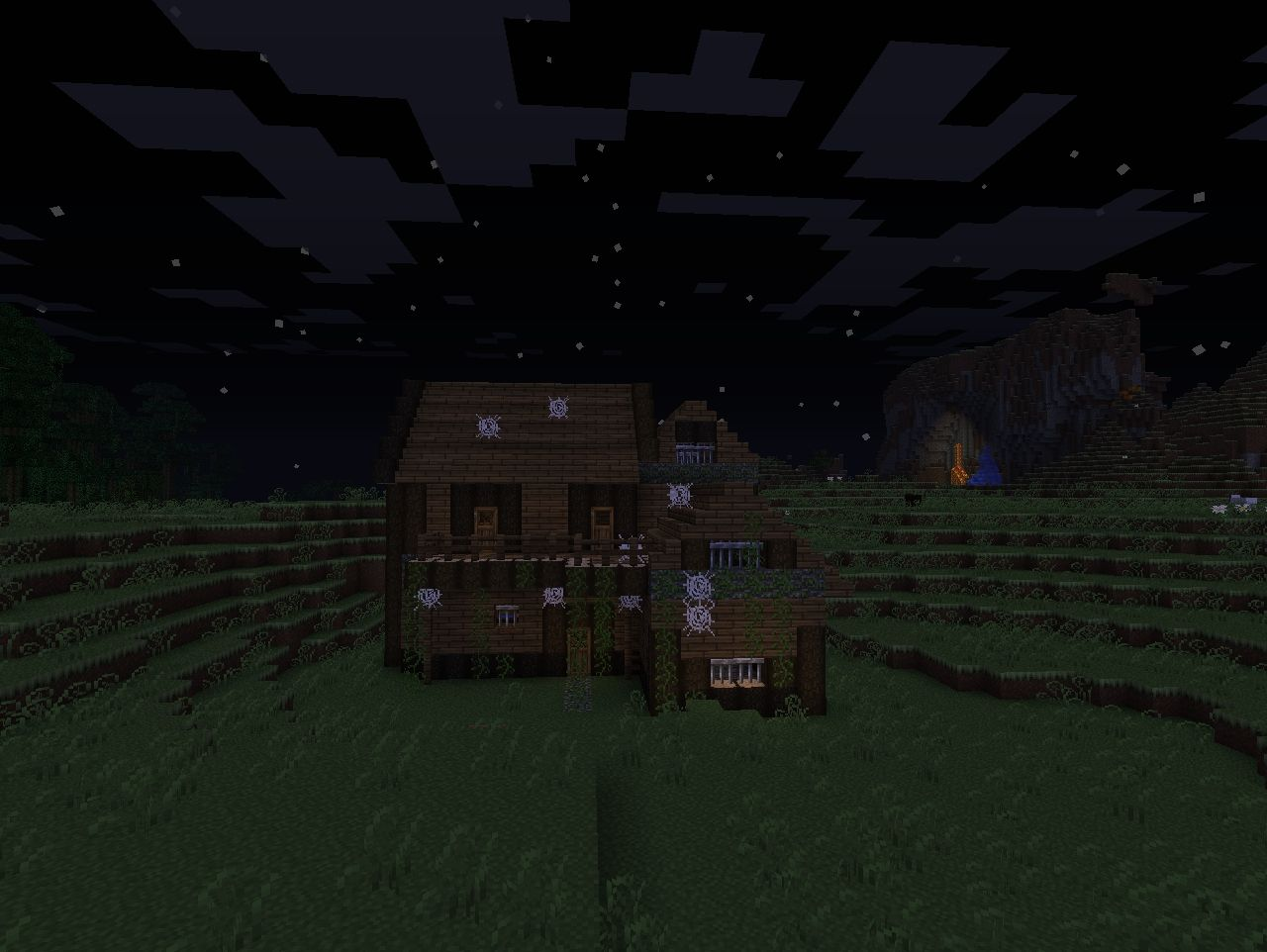 Abandoned house (Better Dungeons?) Minecraft Map