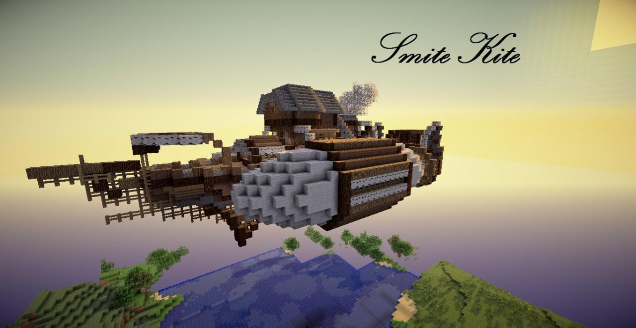 Smite Kite. Airship + World edit schematic [Angel Block App 2 ...