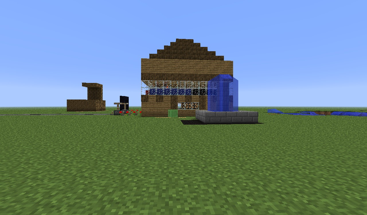 how to make a really cool house in minecraft