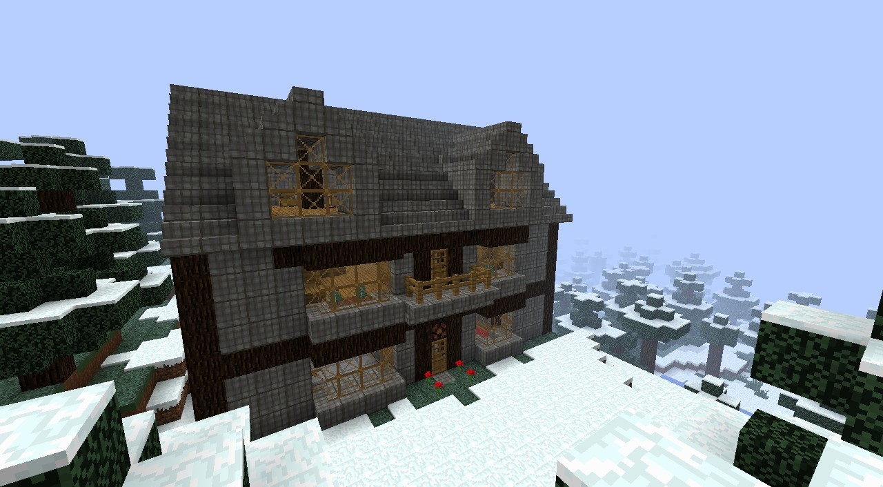Forest Mansion Discontinued Minecraft Project