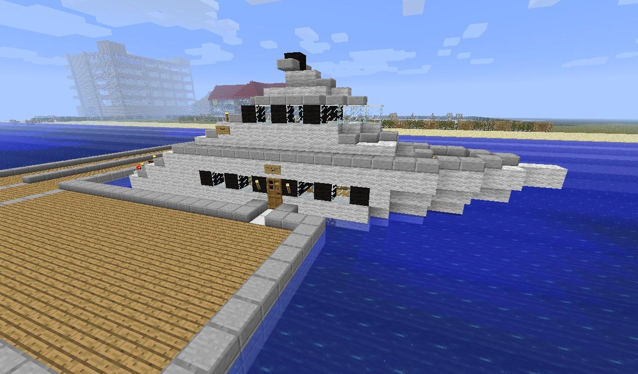 карта яхта майнкрафт #11