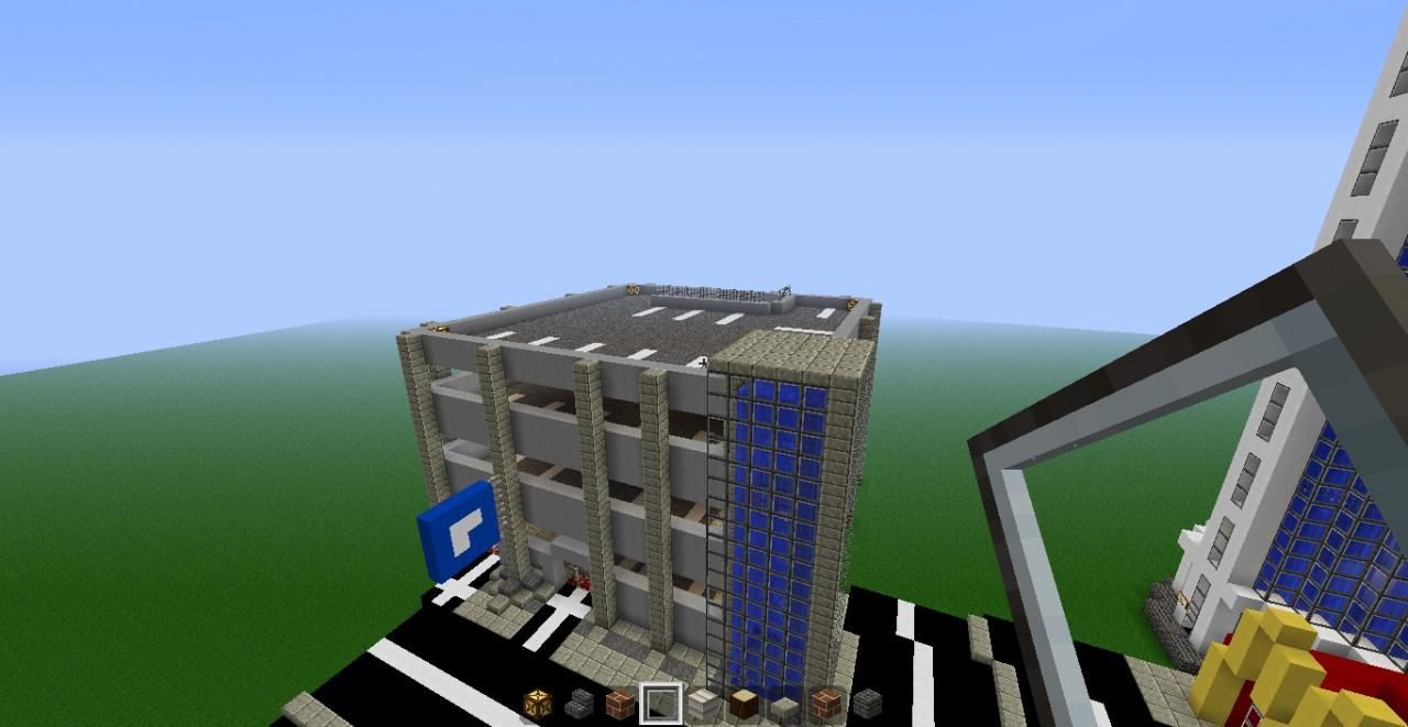 Moderncraft City Minecraft Project
