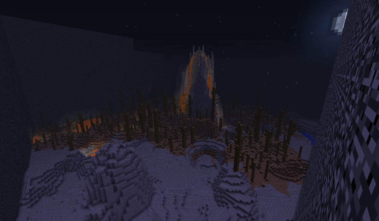 Dead Land a survival map with a vulcan Minecraft Project