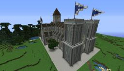 Cathedral with interior Minecraft Map & Project