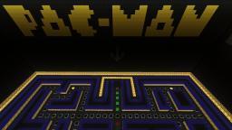PAC-MAN Minecraft Map & Project