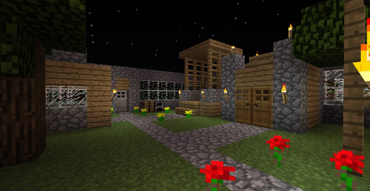 Epic Survival Base 1 4 Players Minecraft Project