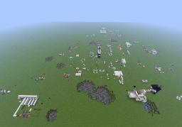 My piston/redstone world Minecraft Map & Project
