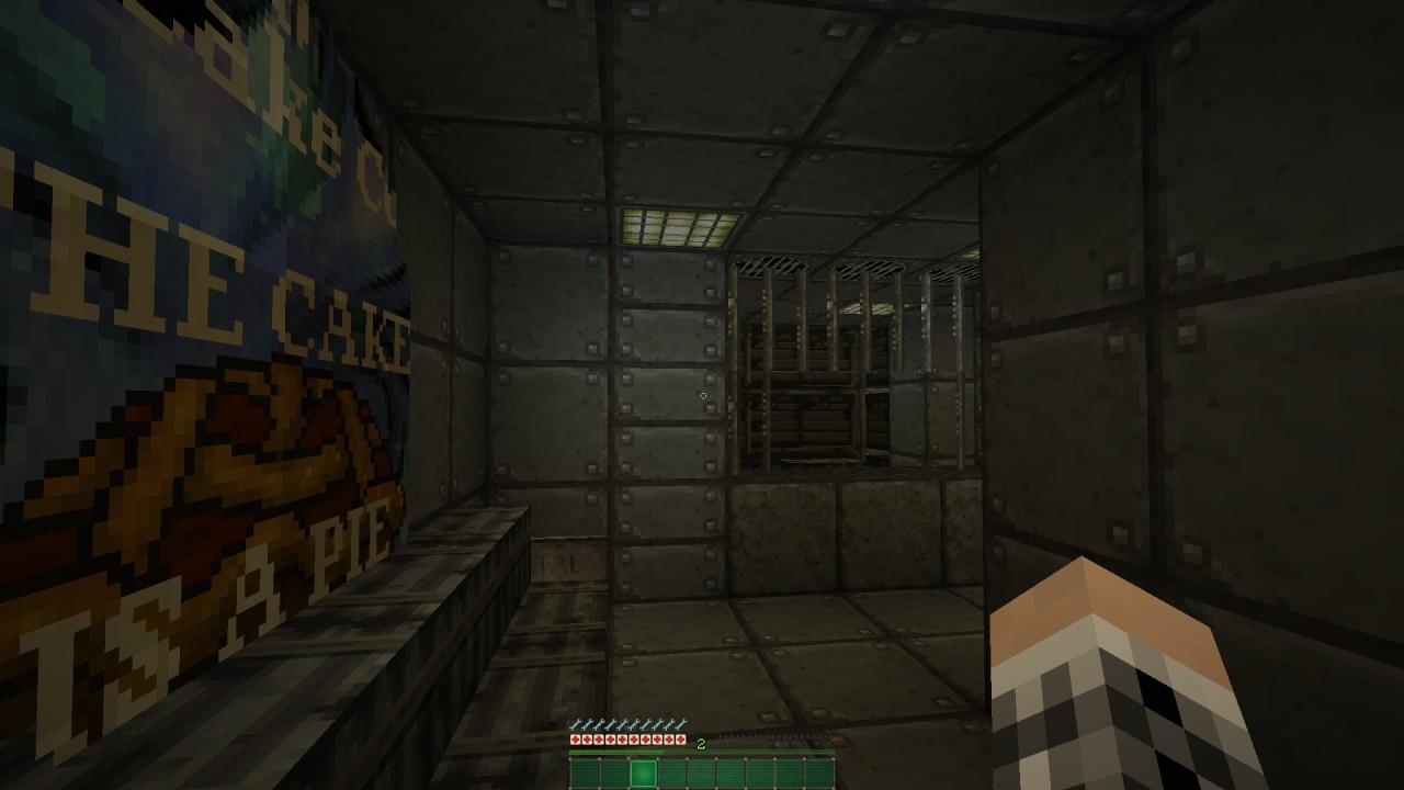 Armory door is opened by a hidden lever