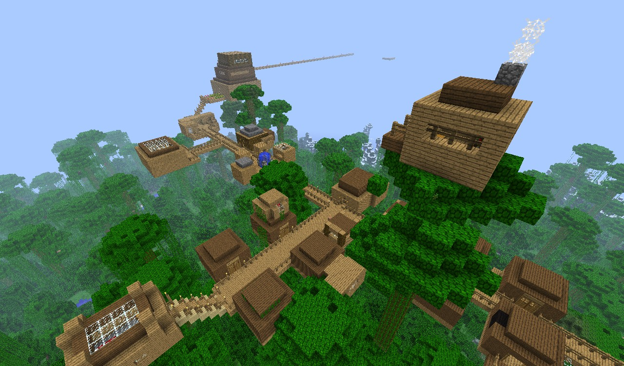 how to build a house in the jungle minecraft