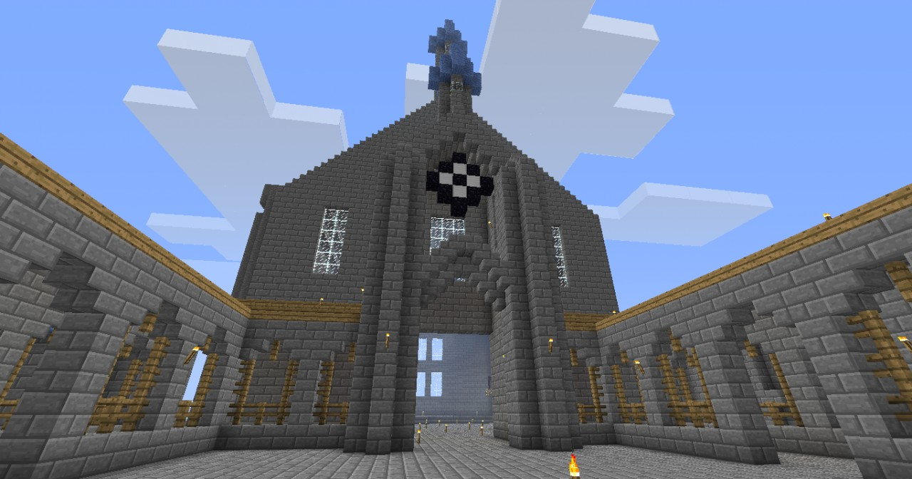 how to build hogwarts in minecraft