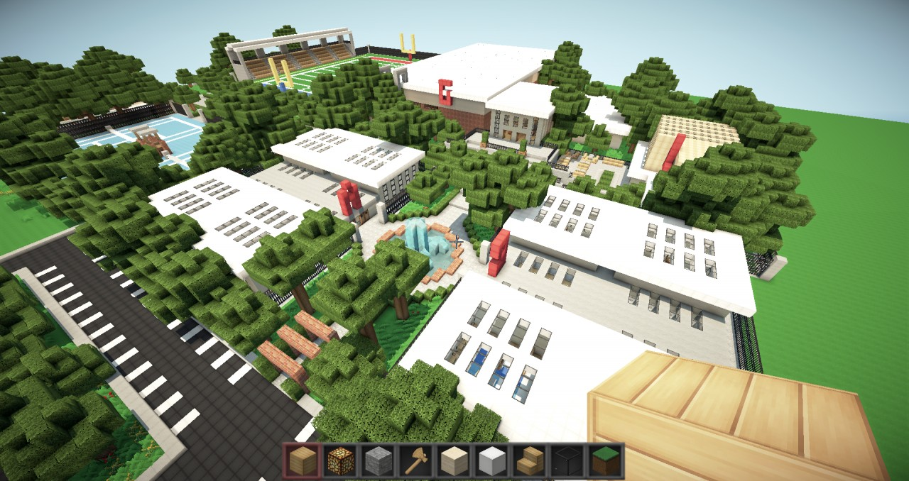 Modern School Minecraft Project