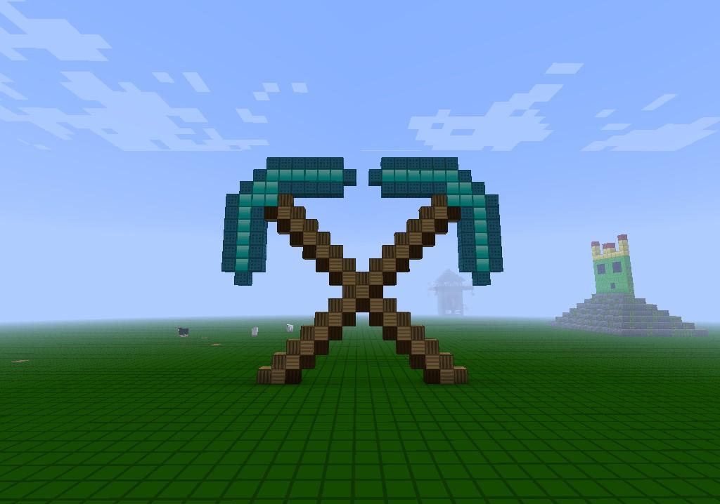 How To Craft Diamond Sword In Minecraft