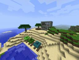 Beach Cabin Minecraft Map & Project