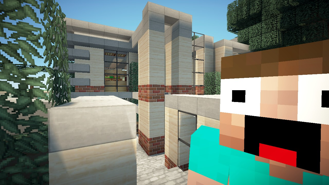 House Lets Build Lot Size 20x20 World of Keralis Minecraft Project