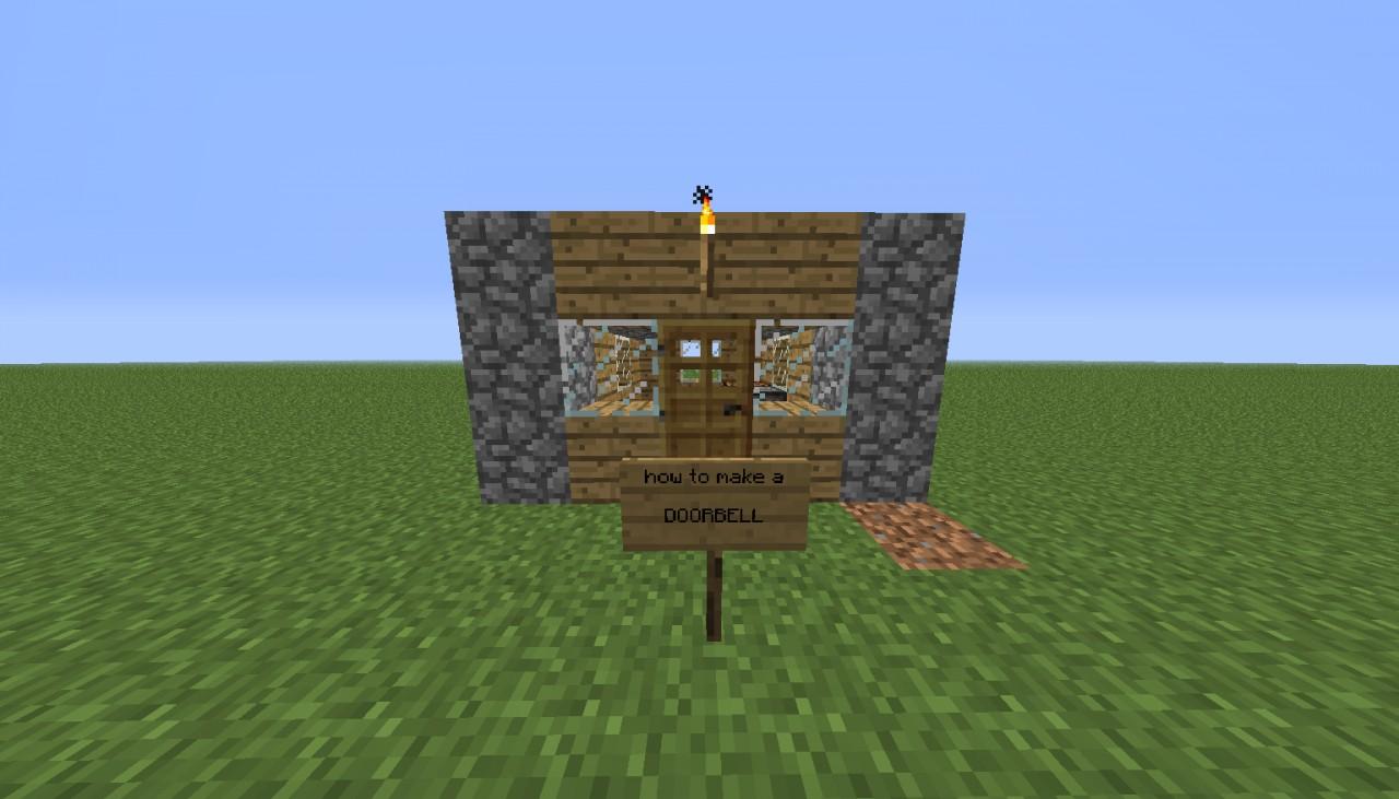 & How to make a doorbell Minecraft Blog
