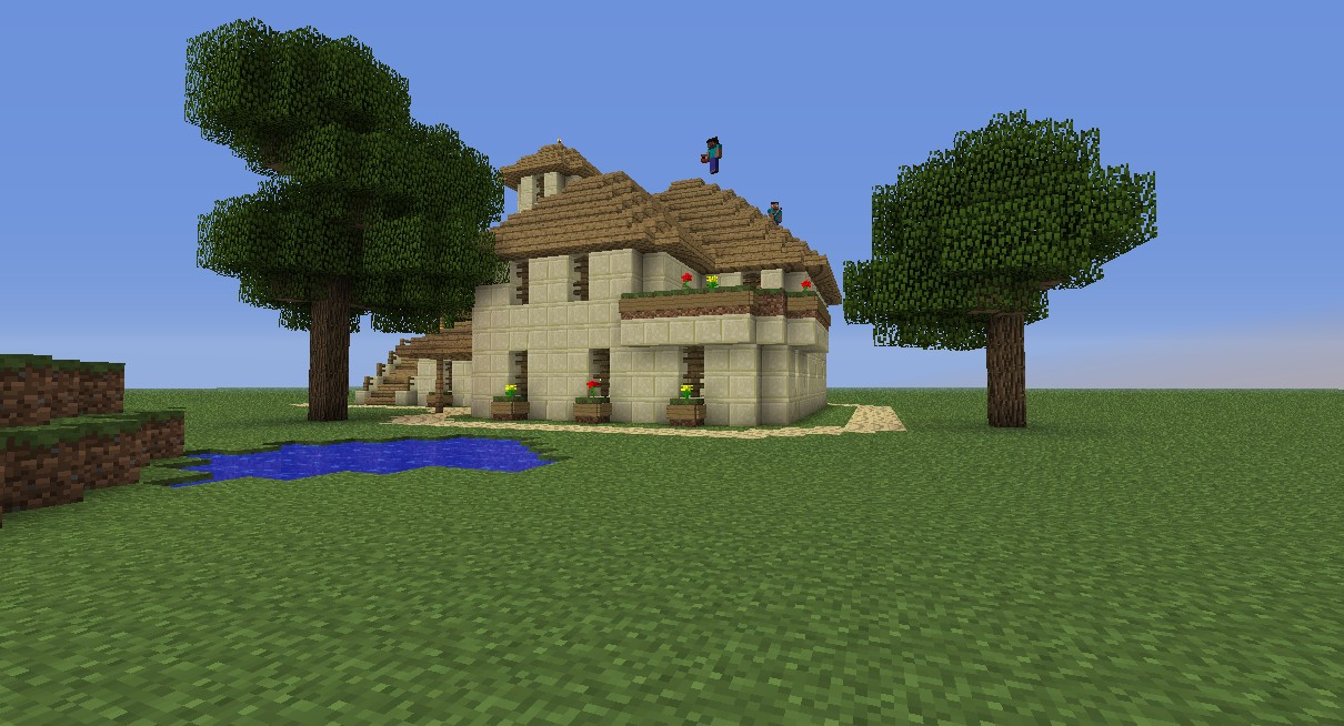 Sandstone house designs minecraft home design and style for Sandstone home designs