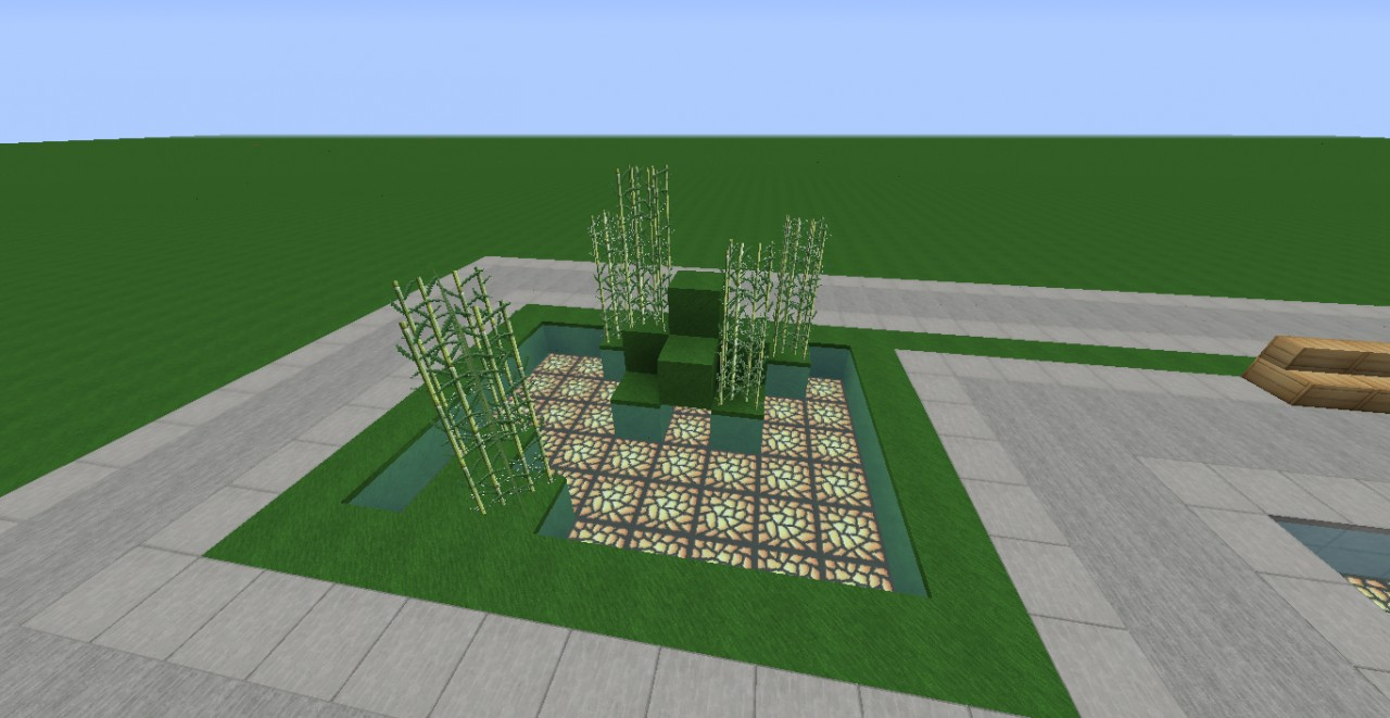 Zen garden minecraft project for Garden designs minecraft
