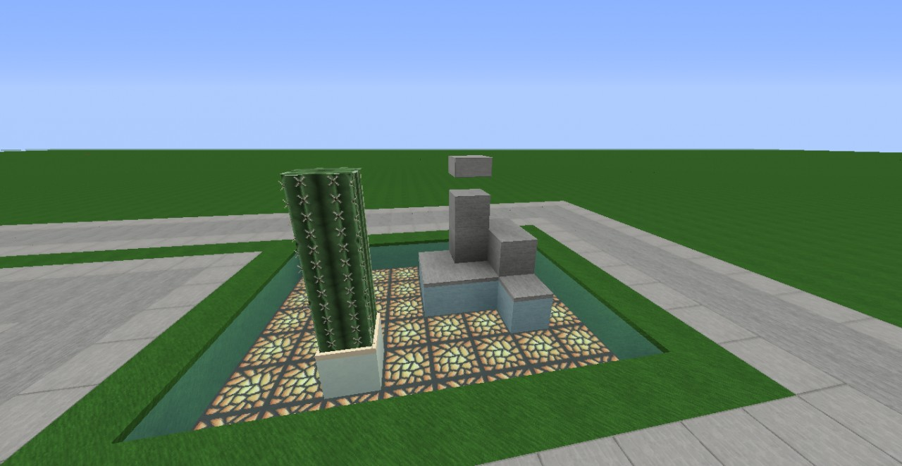 Zen Garden. Minecraft Project