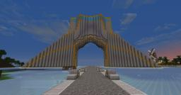 Azadi(Freedom) Monument Minecraft Project