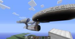 U.S.S. Enterprise (2009 movie) Minecraft Map & Project