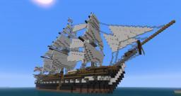 HMS ABLAZE - 18th Century Ship Minecraft